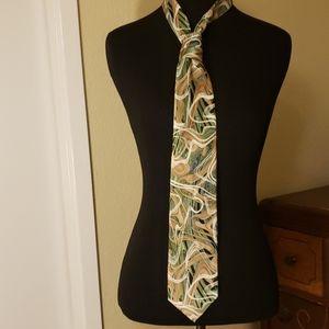 Stylish,  groovy Arrow Silk tie